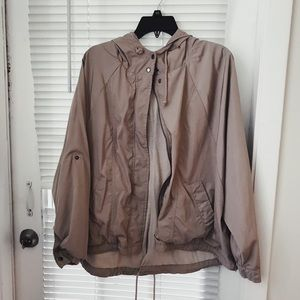 Gap grey raincoat